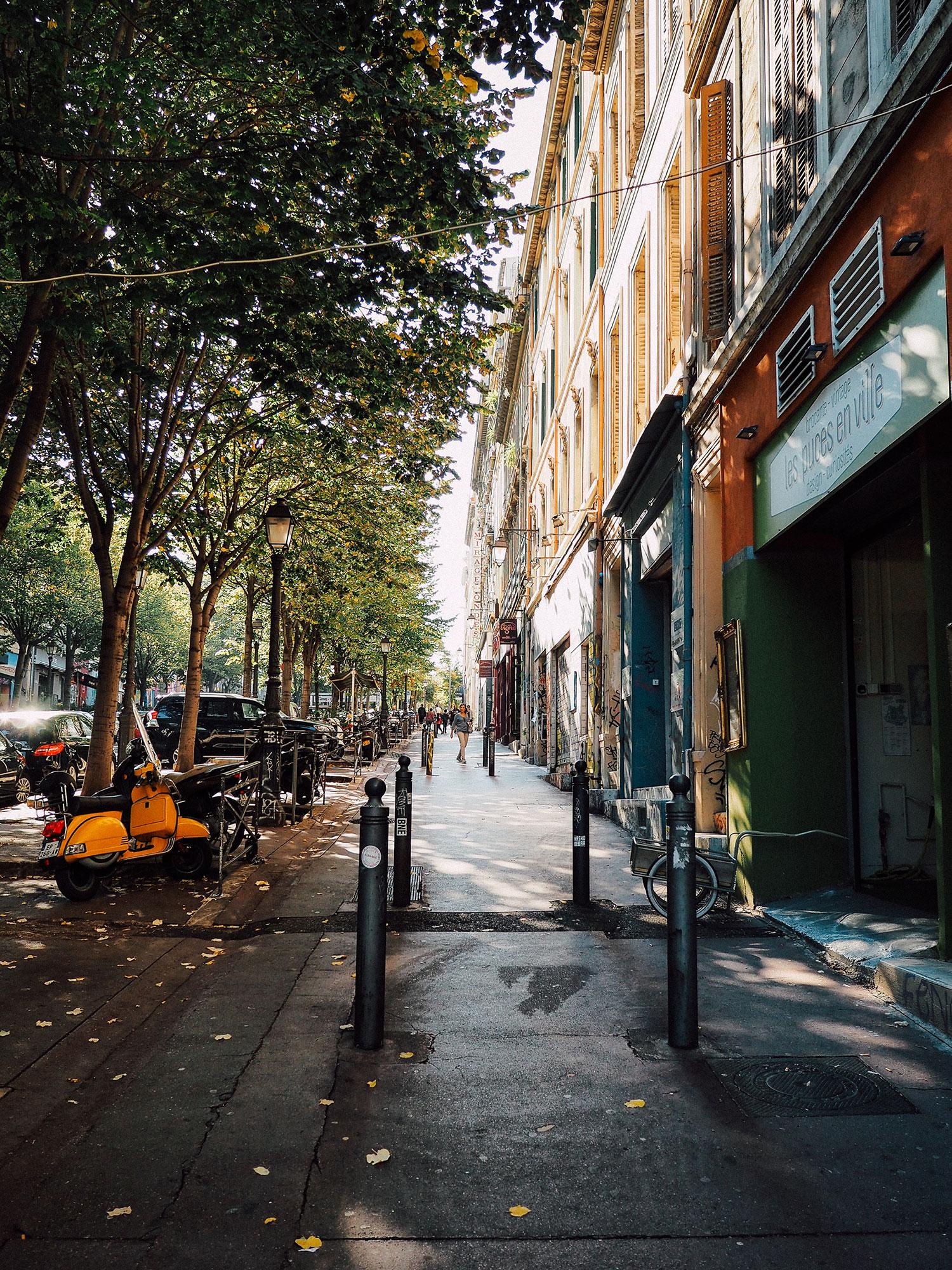 noailles cours saint julien week end à Marseille