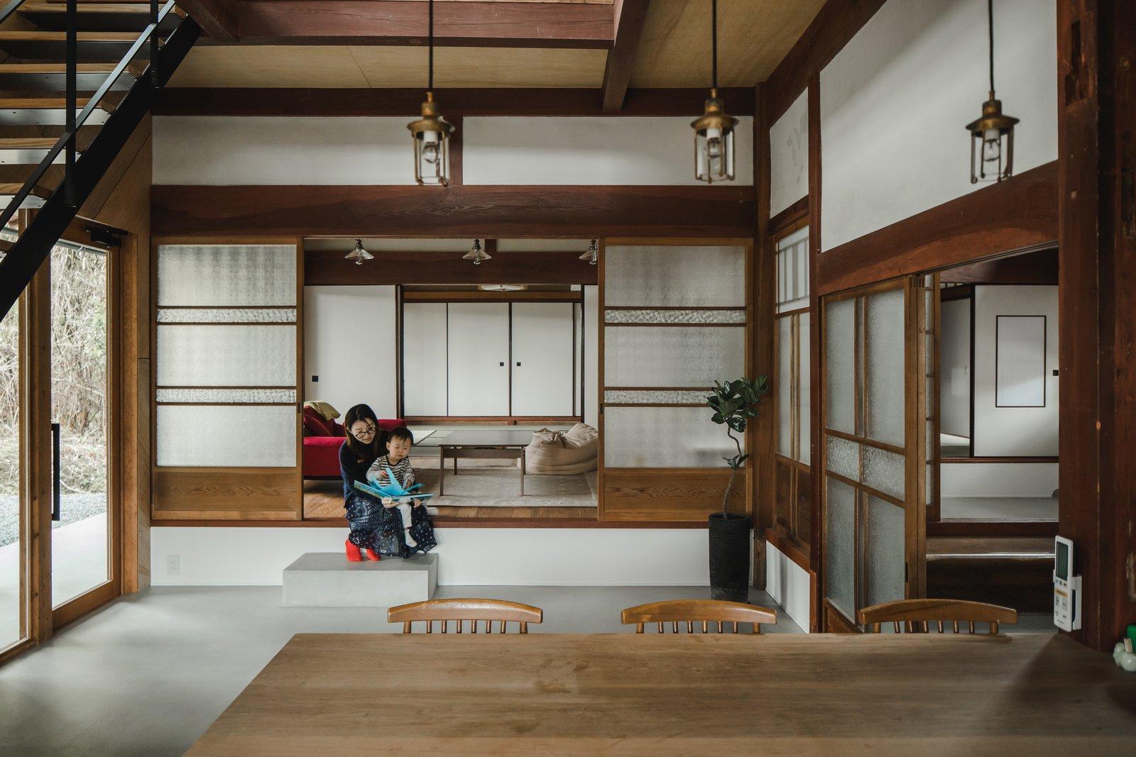 une maison traditionnelle japonaise r nov e lili in. Black Bedroom Furniture Sets. Home Design Ideas