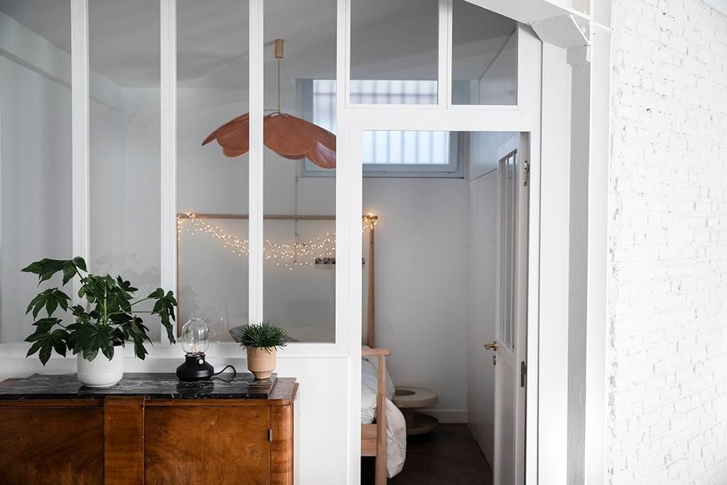 verrière Airbnb à Biarritz renové et décoré avec soin sur le blog déco lifestyle et voyage Lili in Wonderland