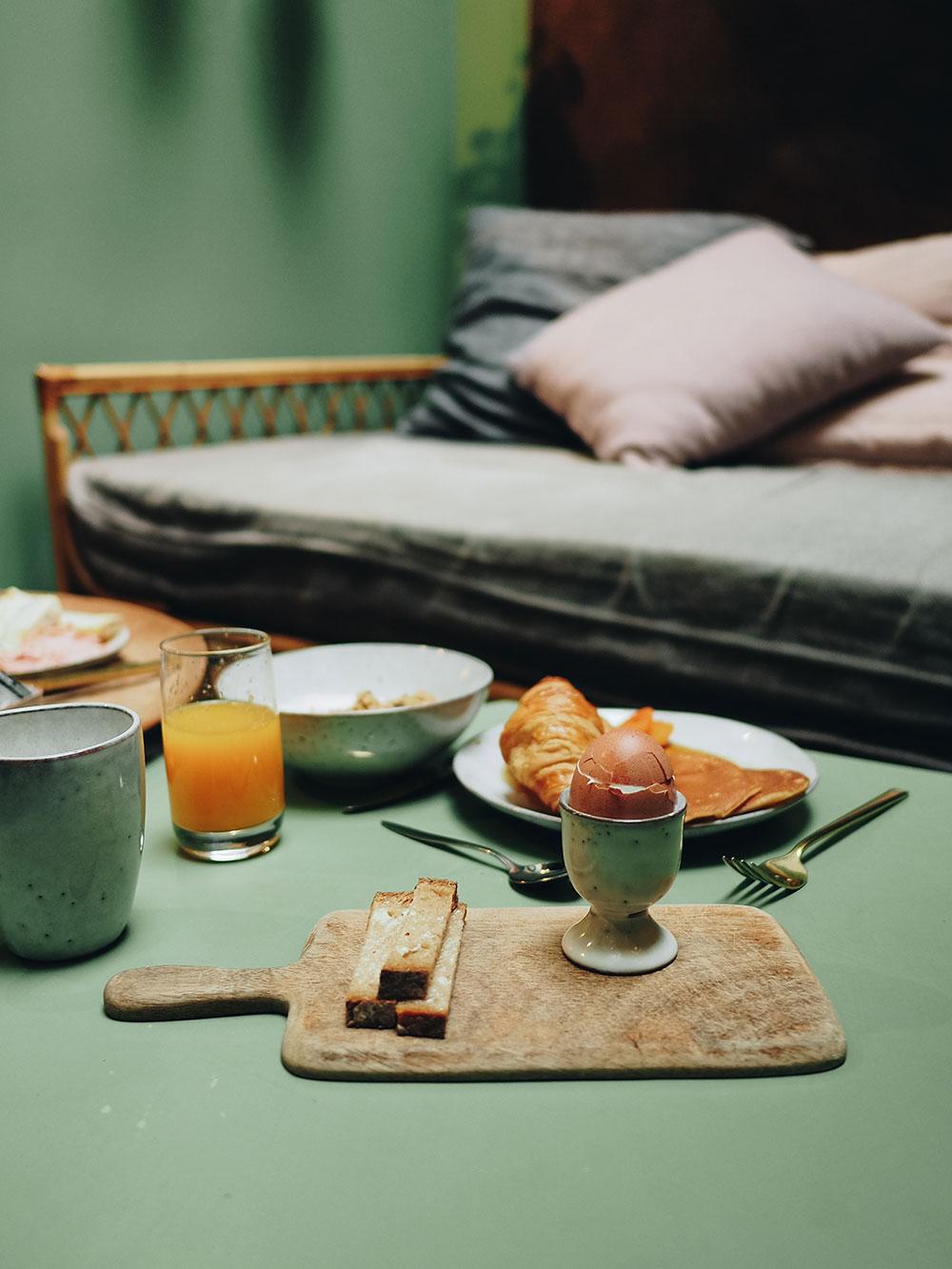 petit déjeuner COQ hôtel Paris