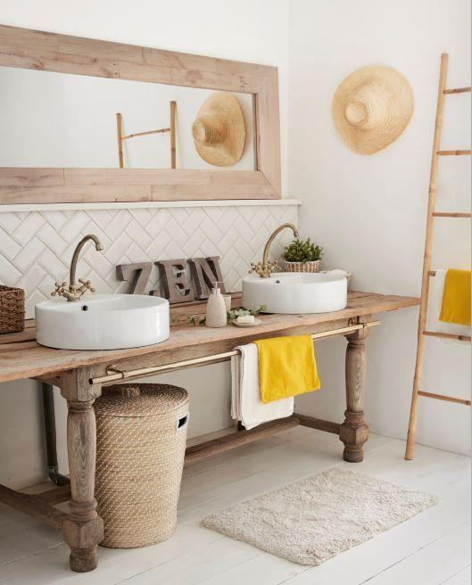 décorer sa salle de bain comme un spa