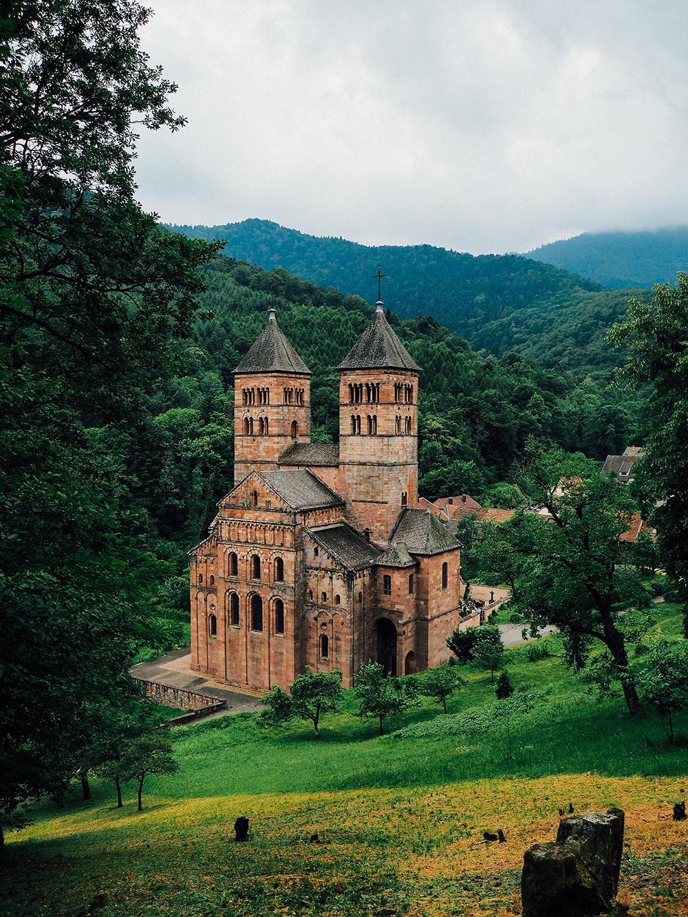 week-end Guebwiller Alsace abbaye Murbach