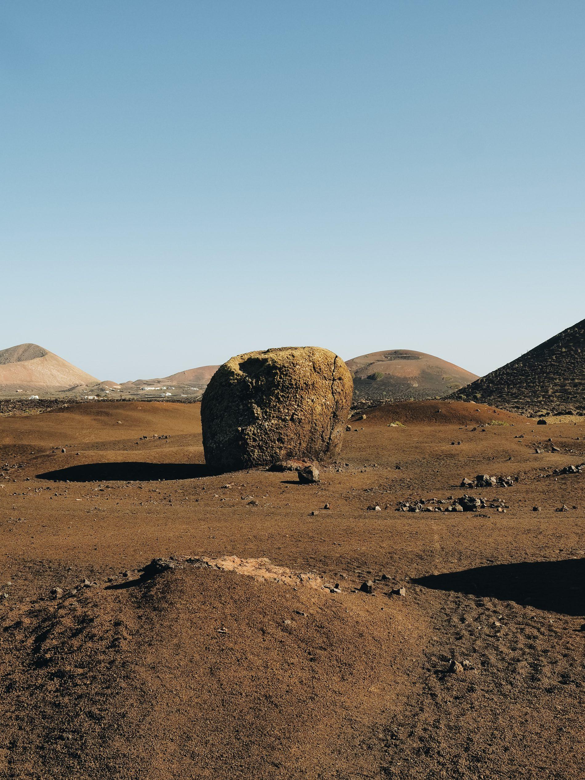voyage Lanzarote conseils itinéraire Montana colorada