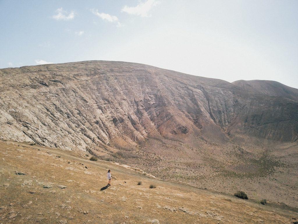voyage Lanzarote conseils itinéraire caldeira Blanca