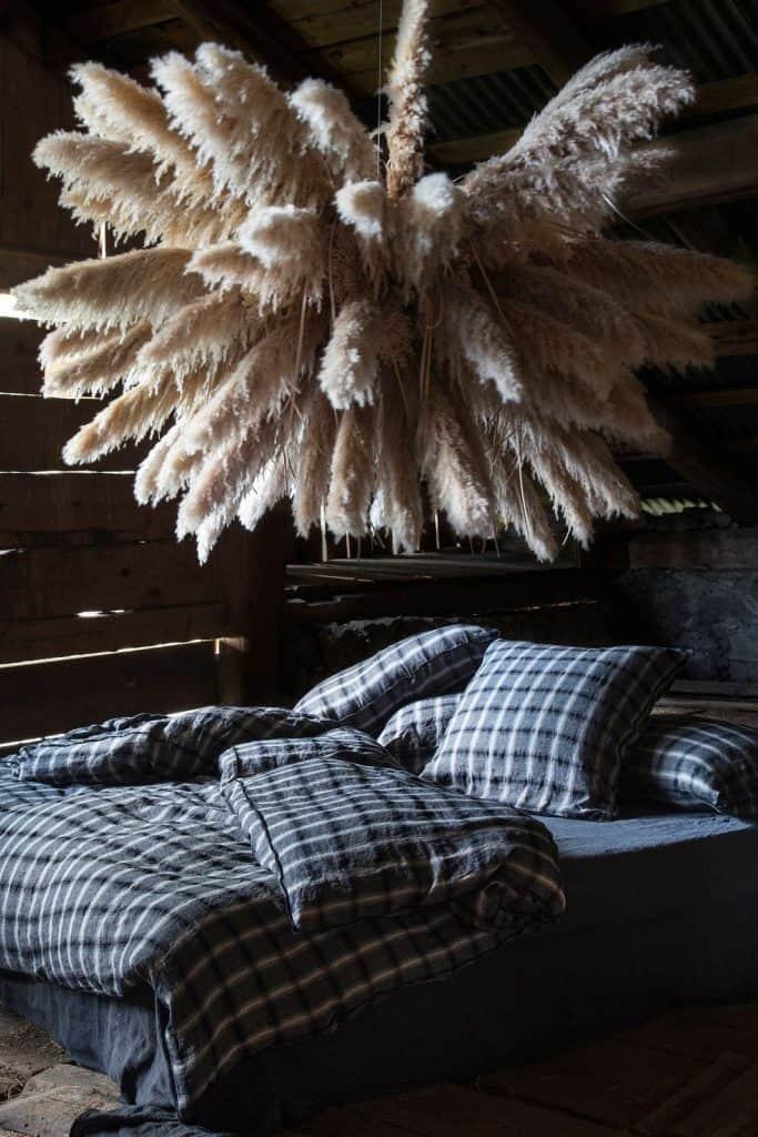 lin coton linge de lit deco