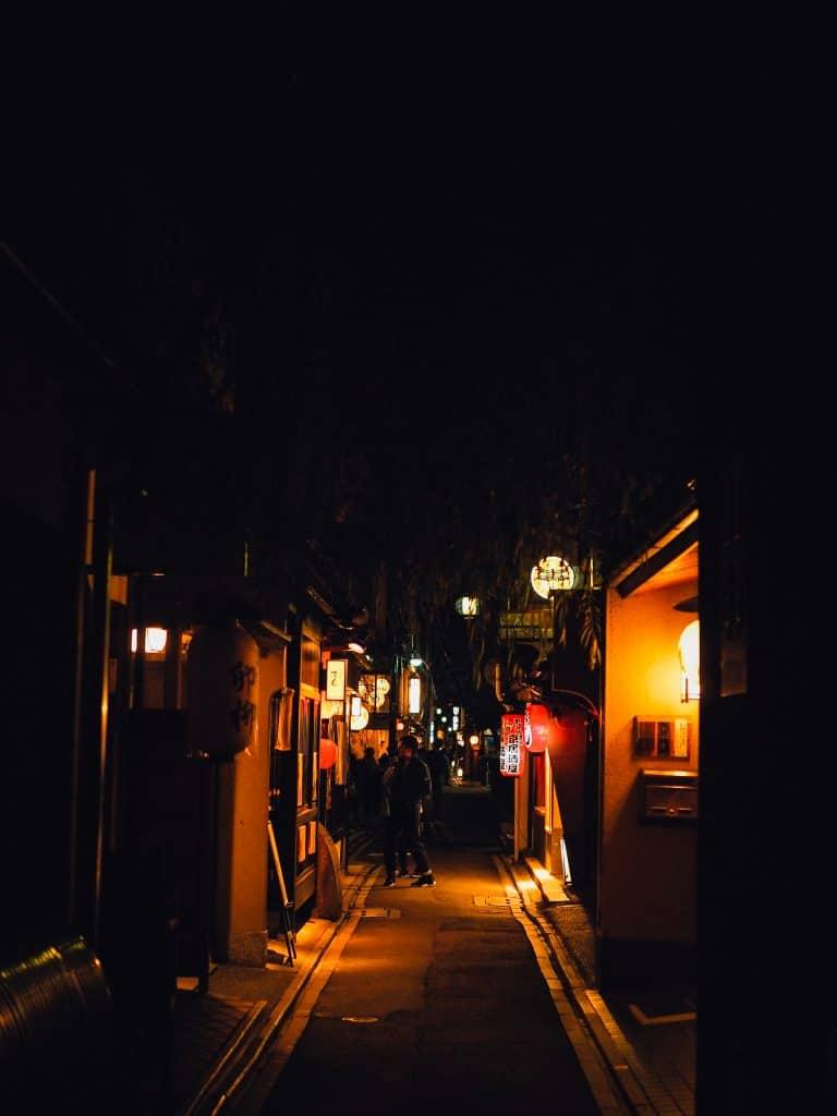 pontocho voyage Kyoto automne blog