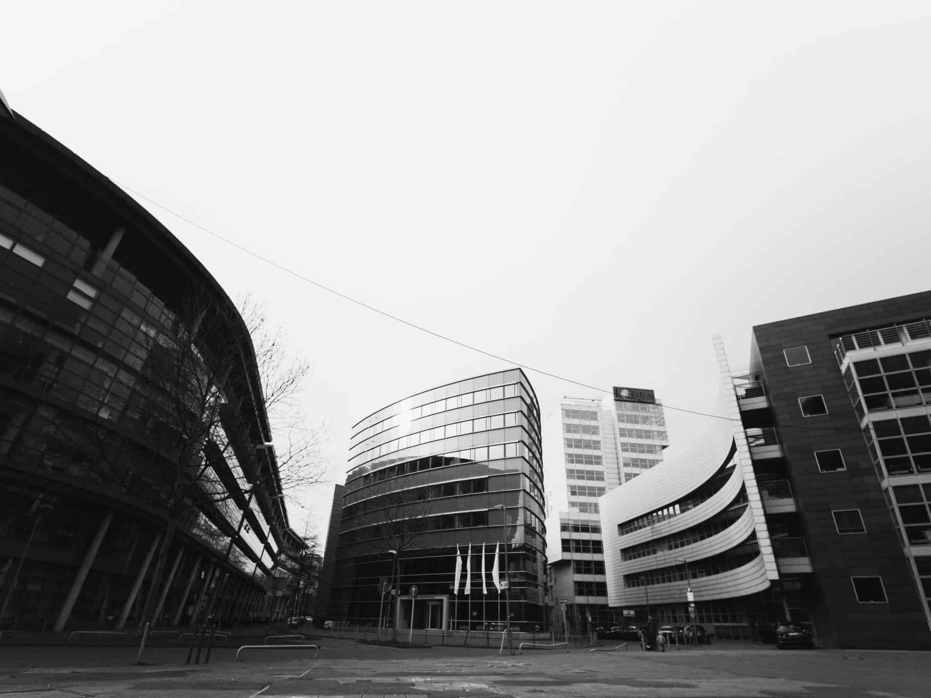 week end visiter Dusseldorf architecture