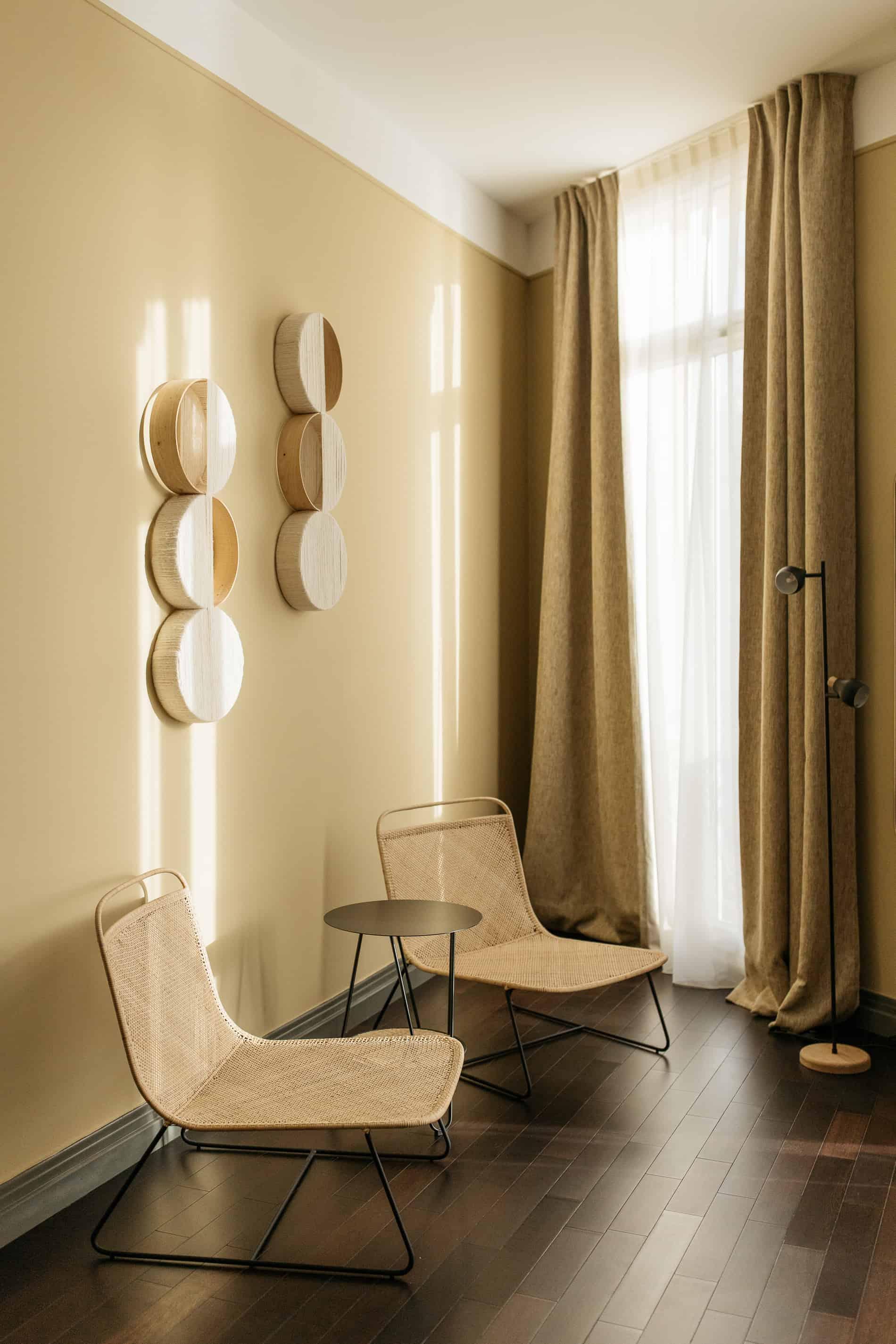 hôtels où séjourner Marseille week-end New Hotel Le Quai chambre décoration naturelle