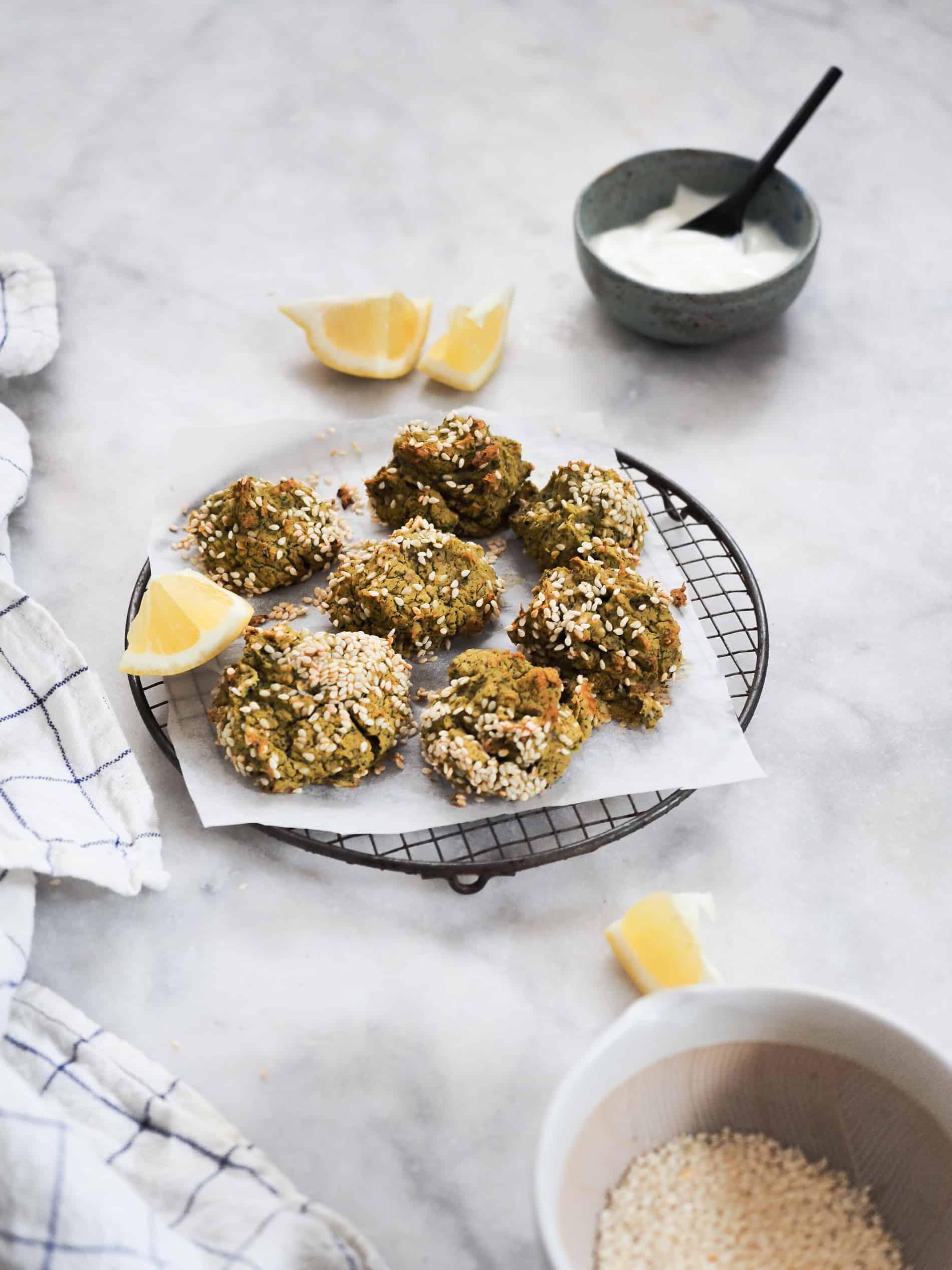 recette falafels heathly graine de sesame