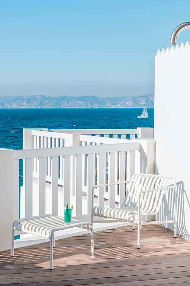 hôtels où séjourner Marseille week-end Les Bords de Mer chambre vue