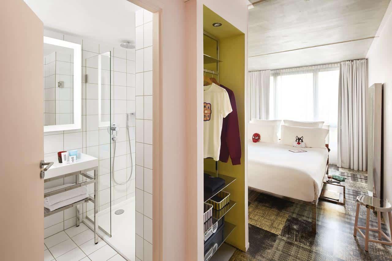 hôtels où séjourner Marseille week-end mama shelter chambre