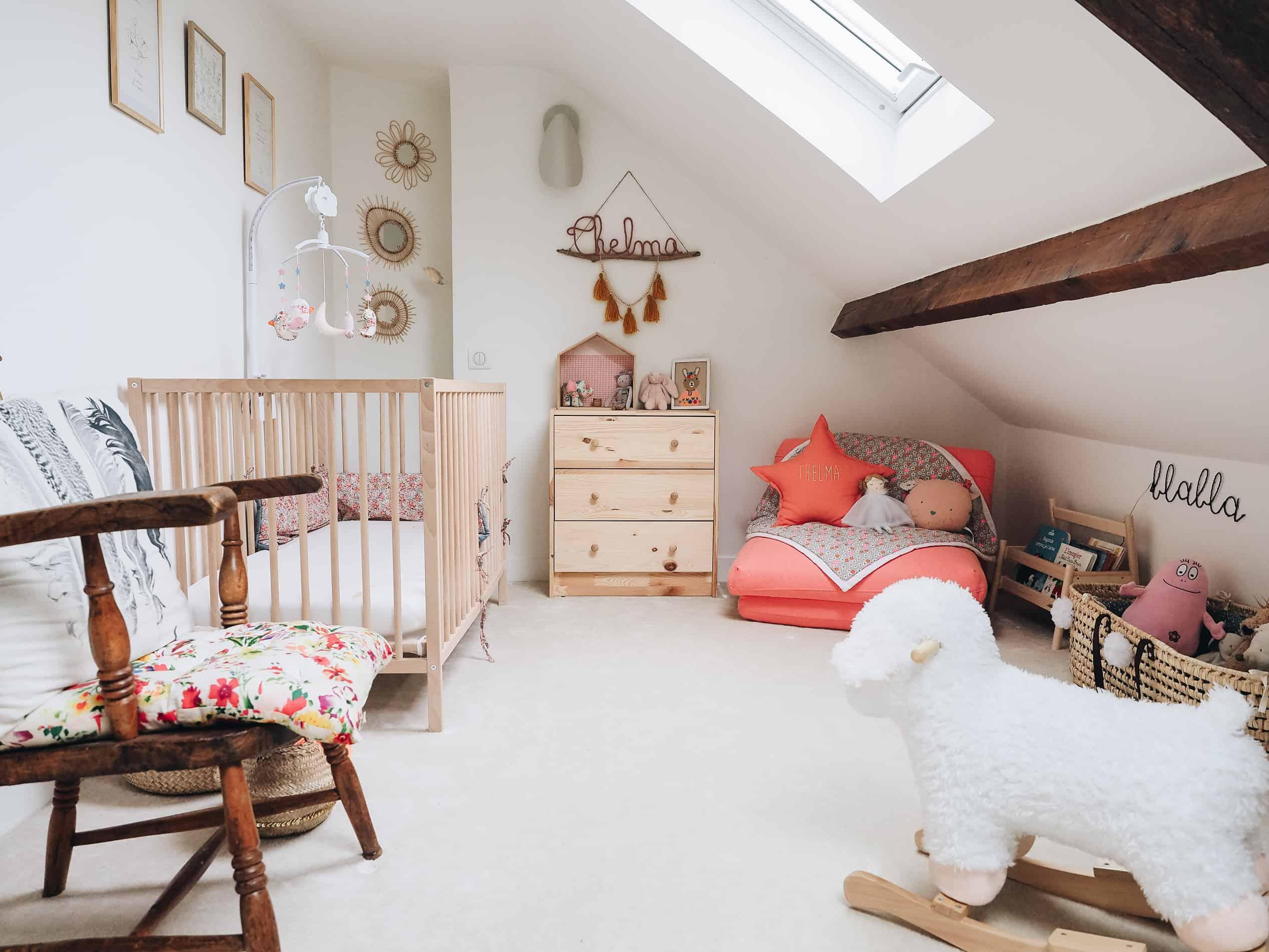 appartement boho vintage chambre enfant douce blog deco lili in wonderland