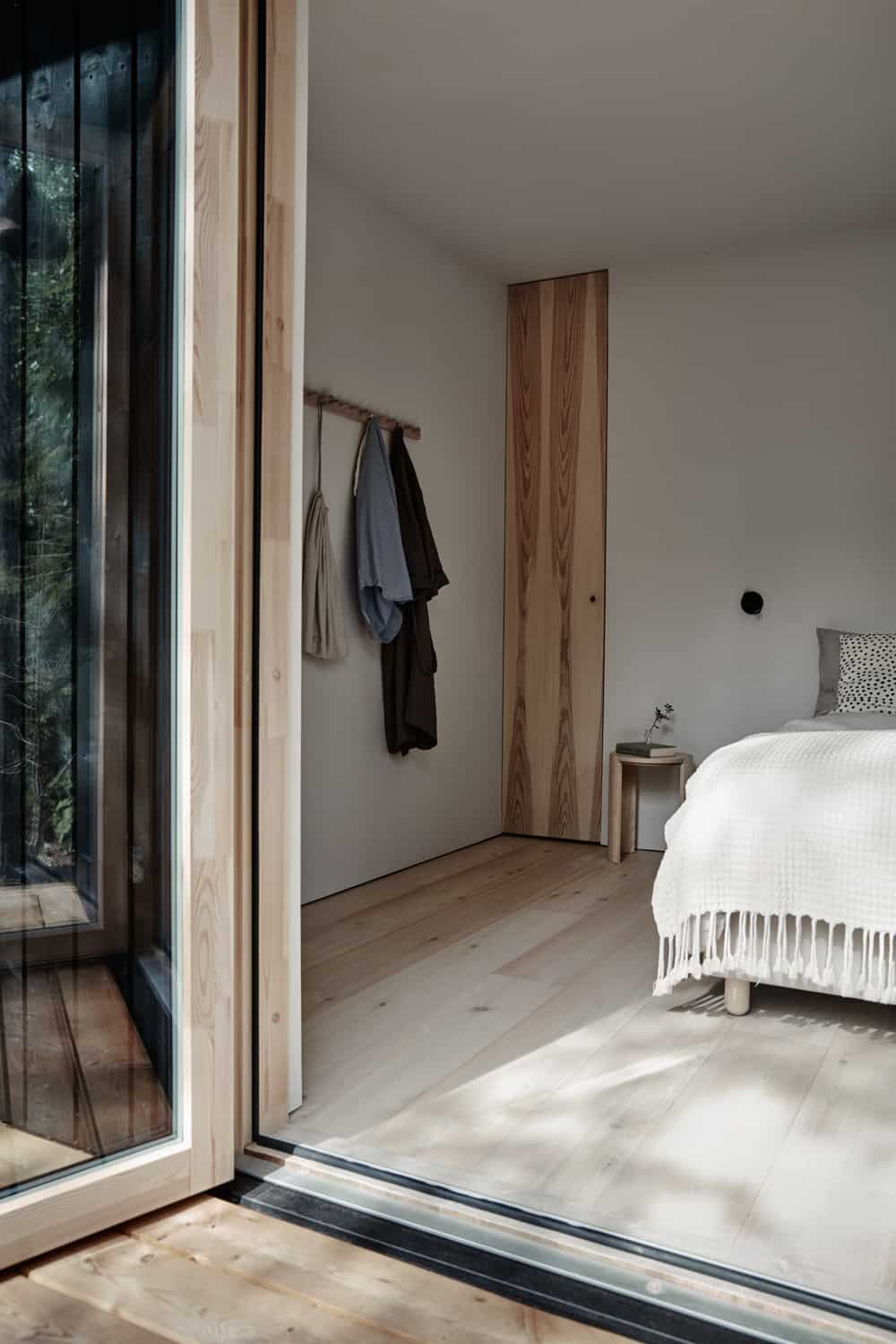 Villa Rauhanniemi architecture intérior design cabin bedroom blog deco