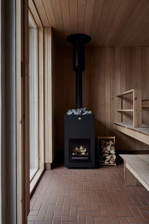 Villa Rauhanniemi architecture intérior design cabin sauna blog deco