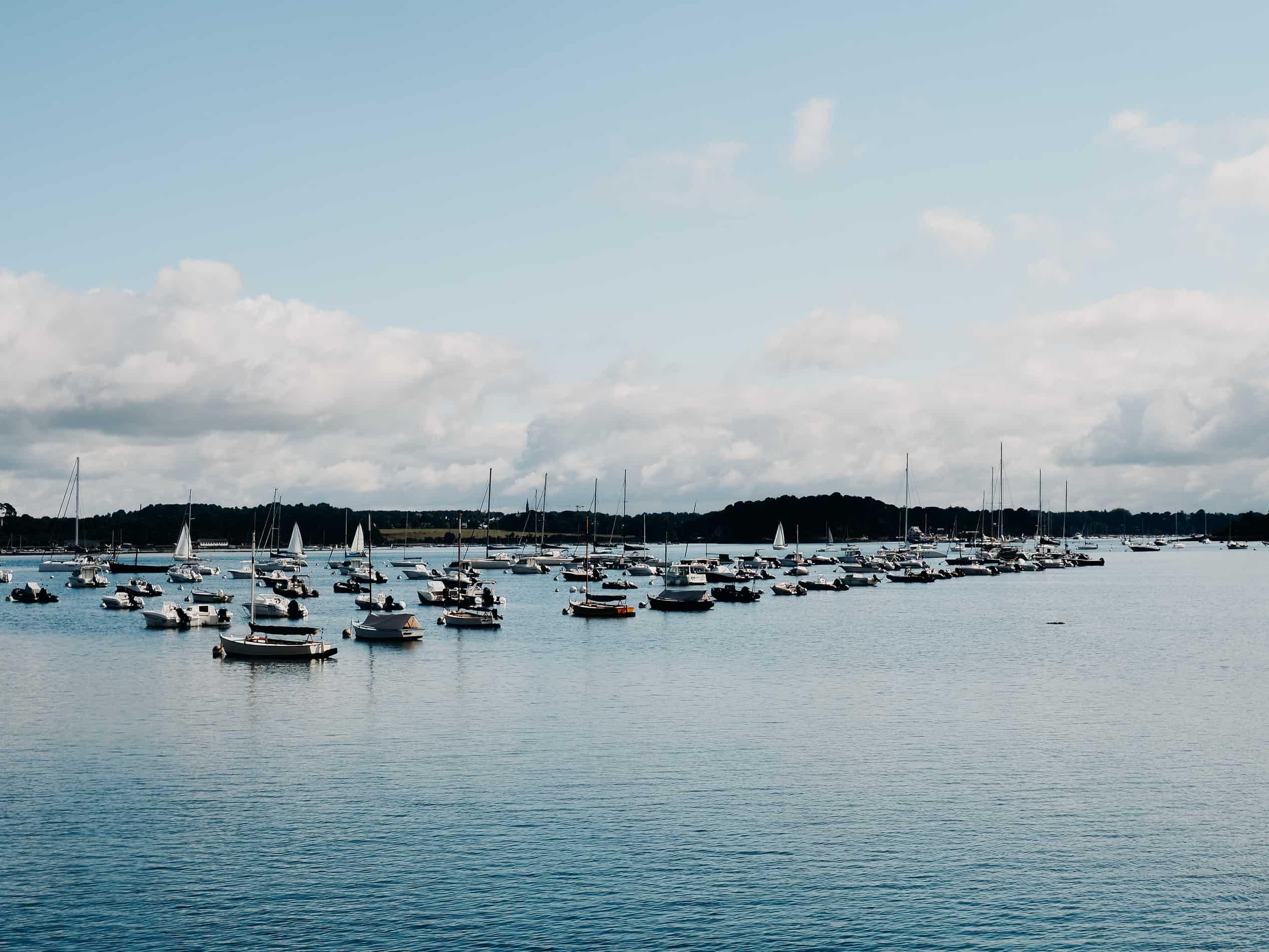 idées escapades france Nantes île aux moines port bateaux