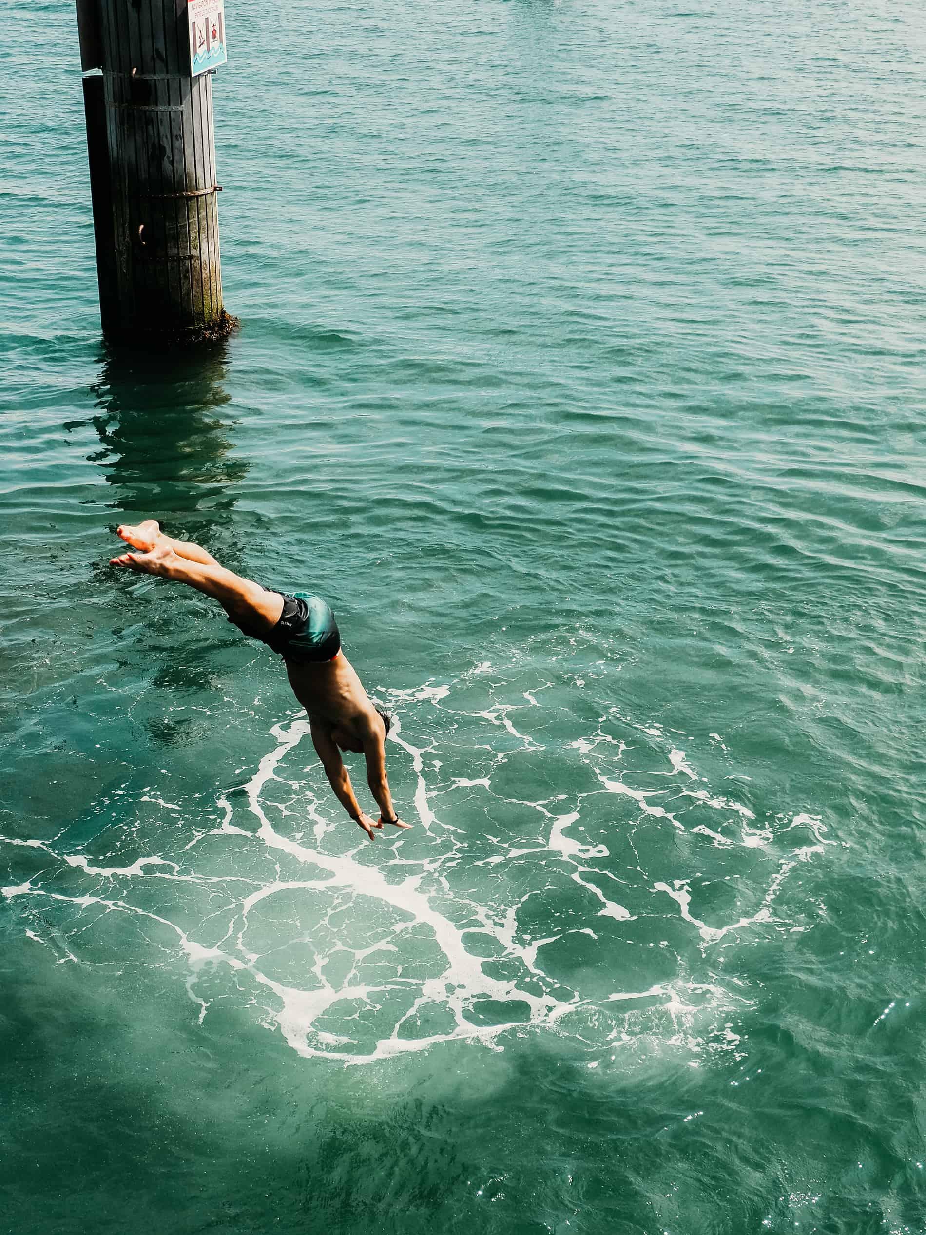idées escapades france Nantes Noirmoutier plongeur