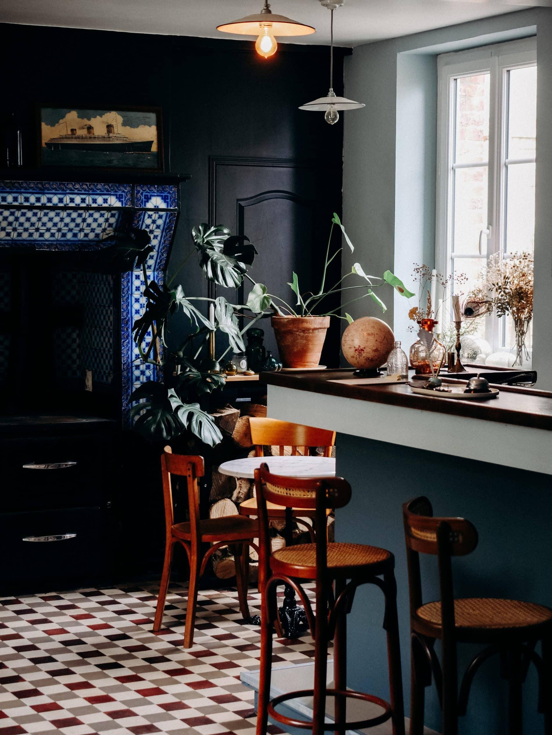 La Maison Plûme maison d'hôtes normandie bar