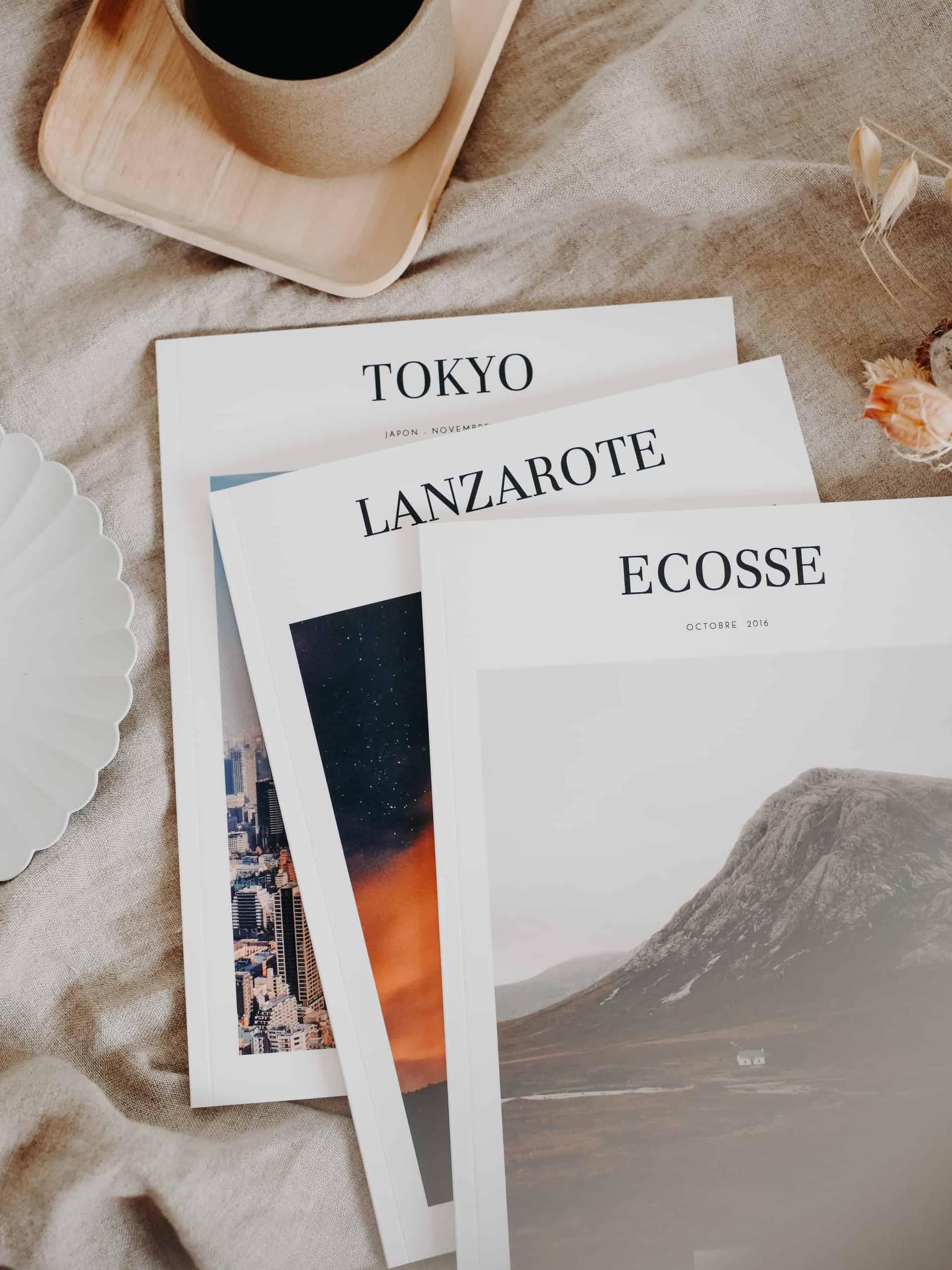 imprimer album photo avec Atelier Rosemood