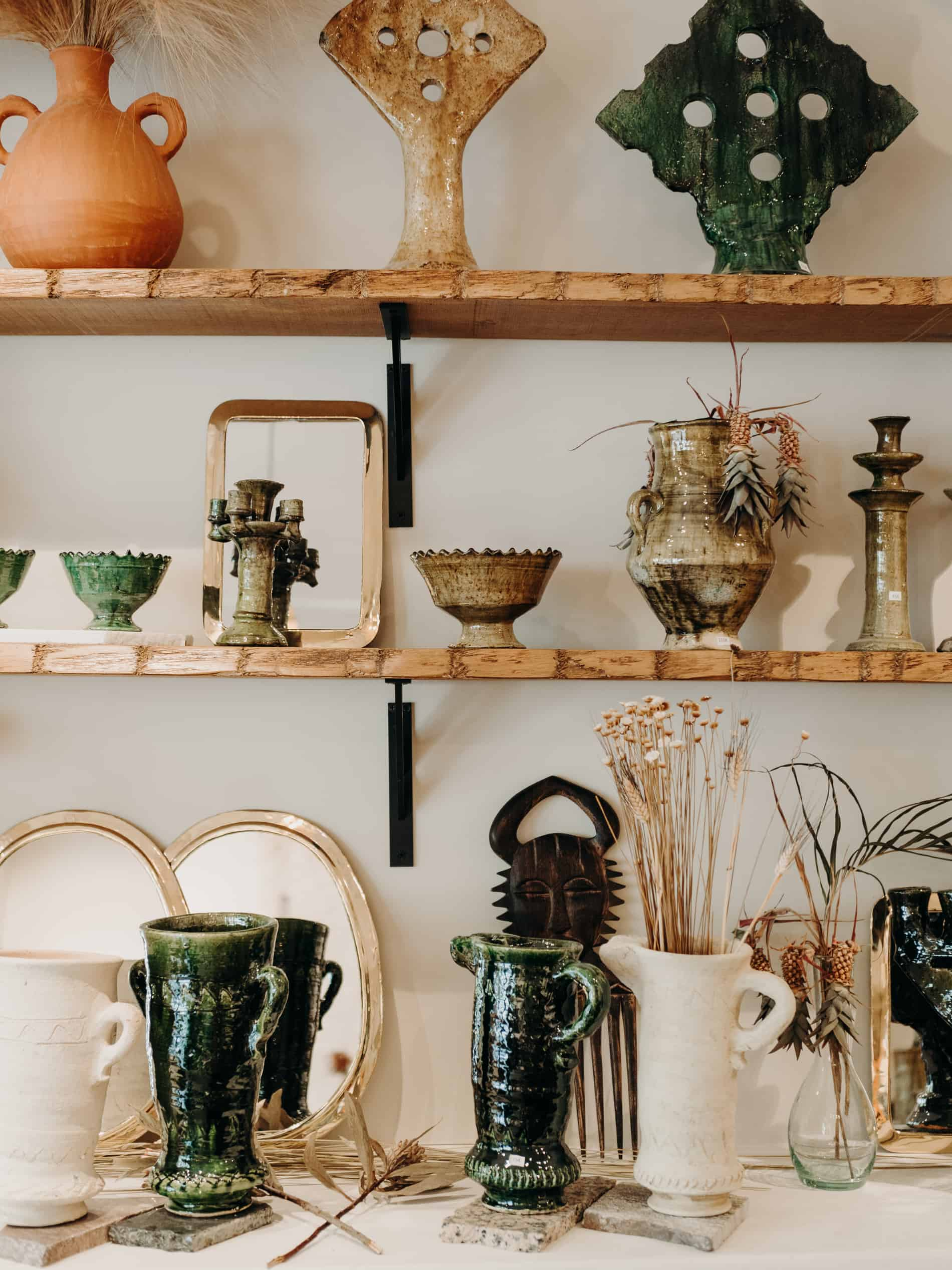 Beldy boutique déco berbère paris blog Lili in wonderland céramiques