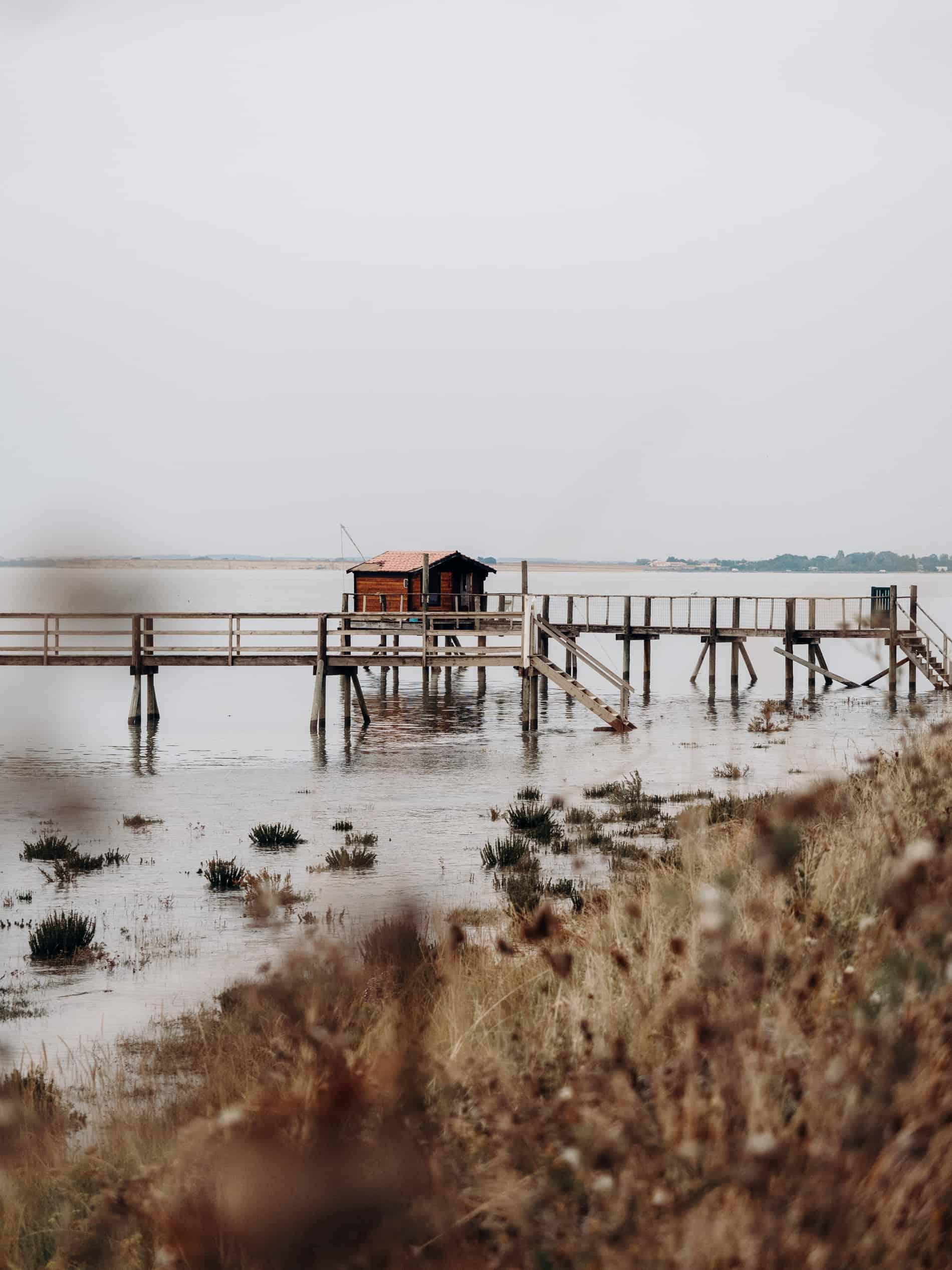 week end Rochefort Fouras île de Ré carrelet