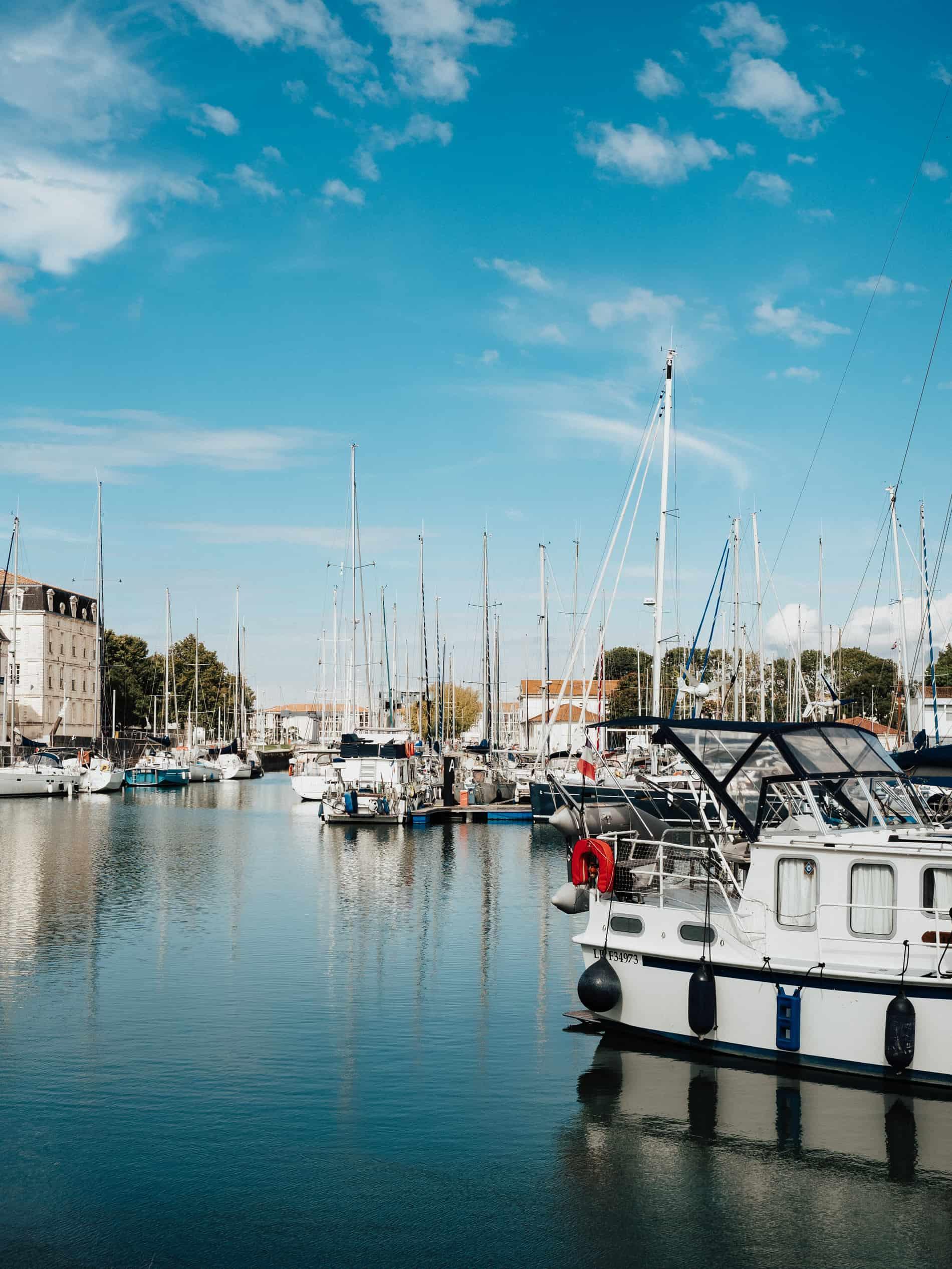 week end île de Ré port Saint Martin de Ré