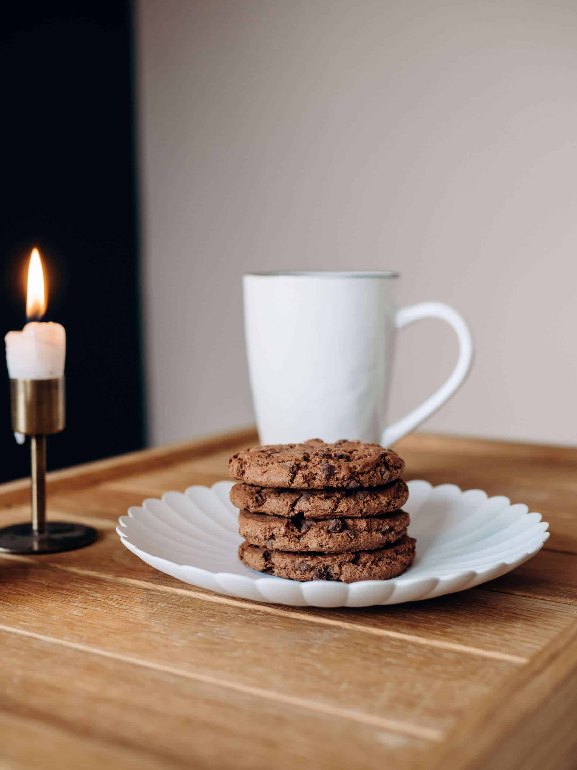 moments slow chambre cookies bougie