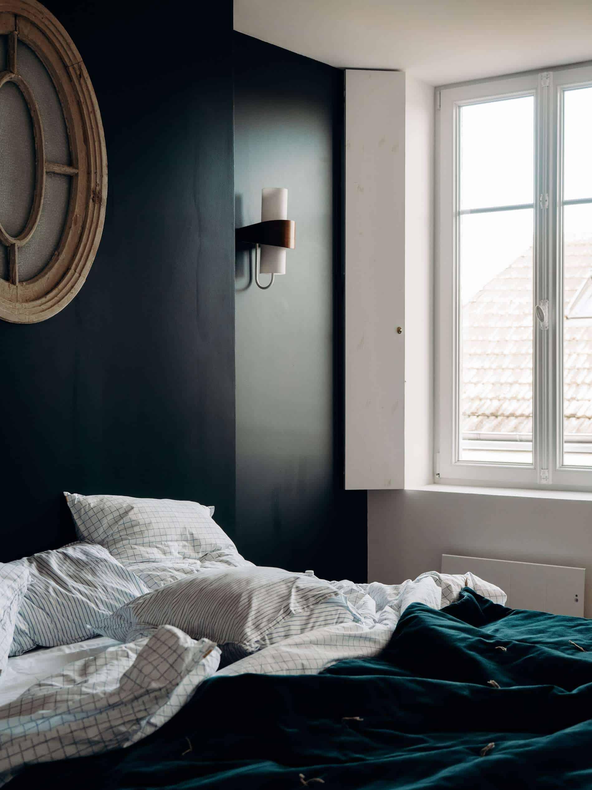Les Pénates Reims appartement guesthouse vintage matin
