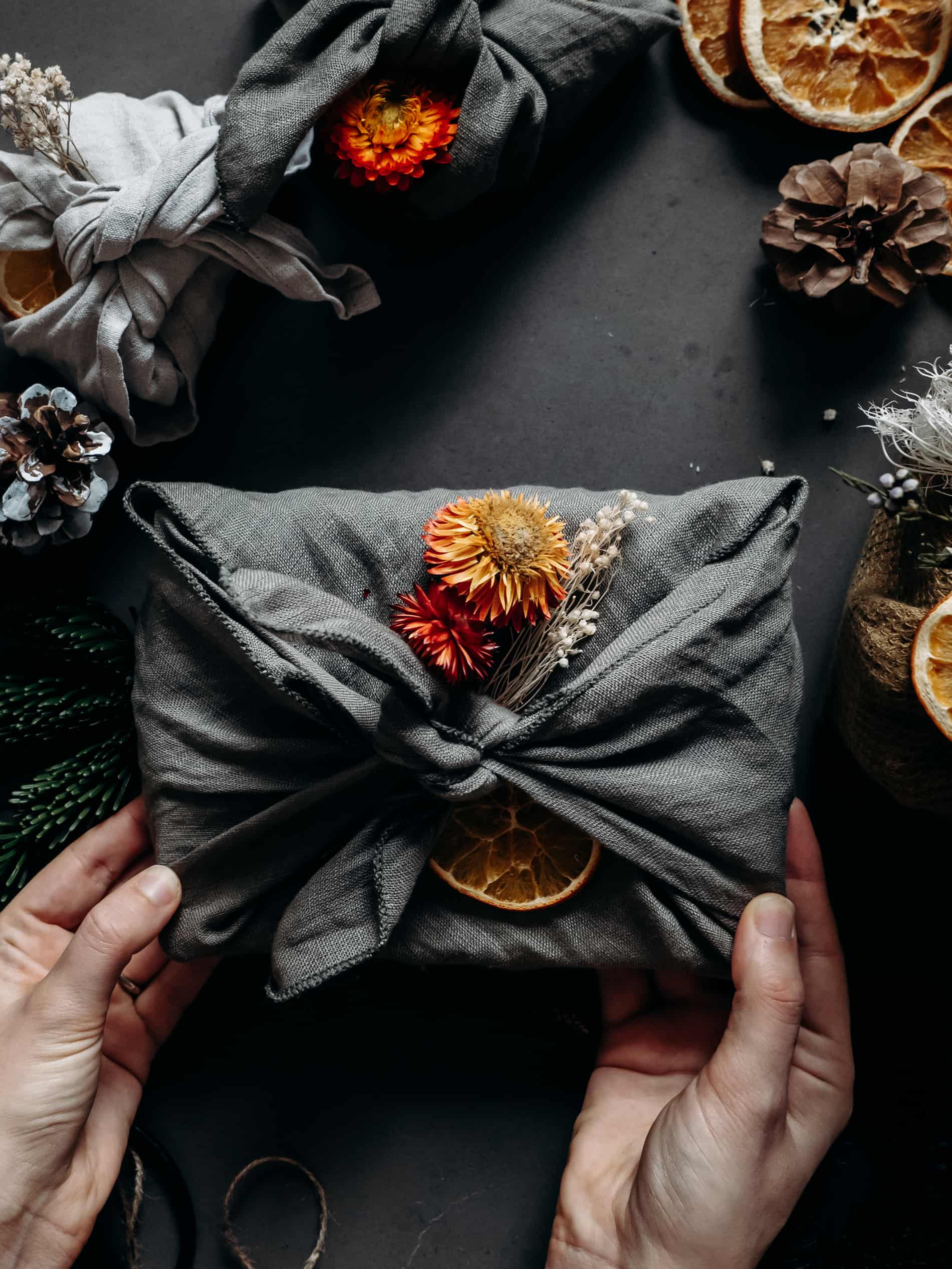 emballer cadeaux de Noël furoshiki blog deco diy lifestyle Lili in Wonderland