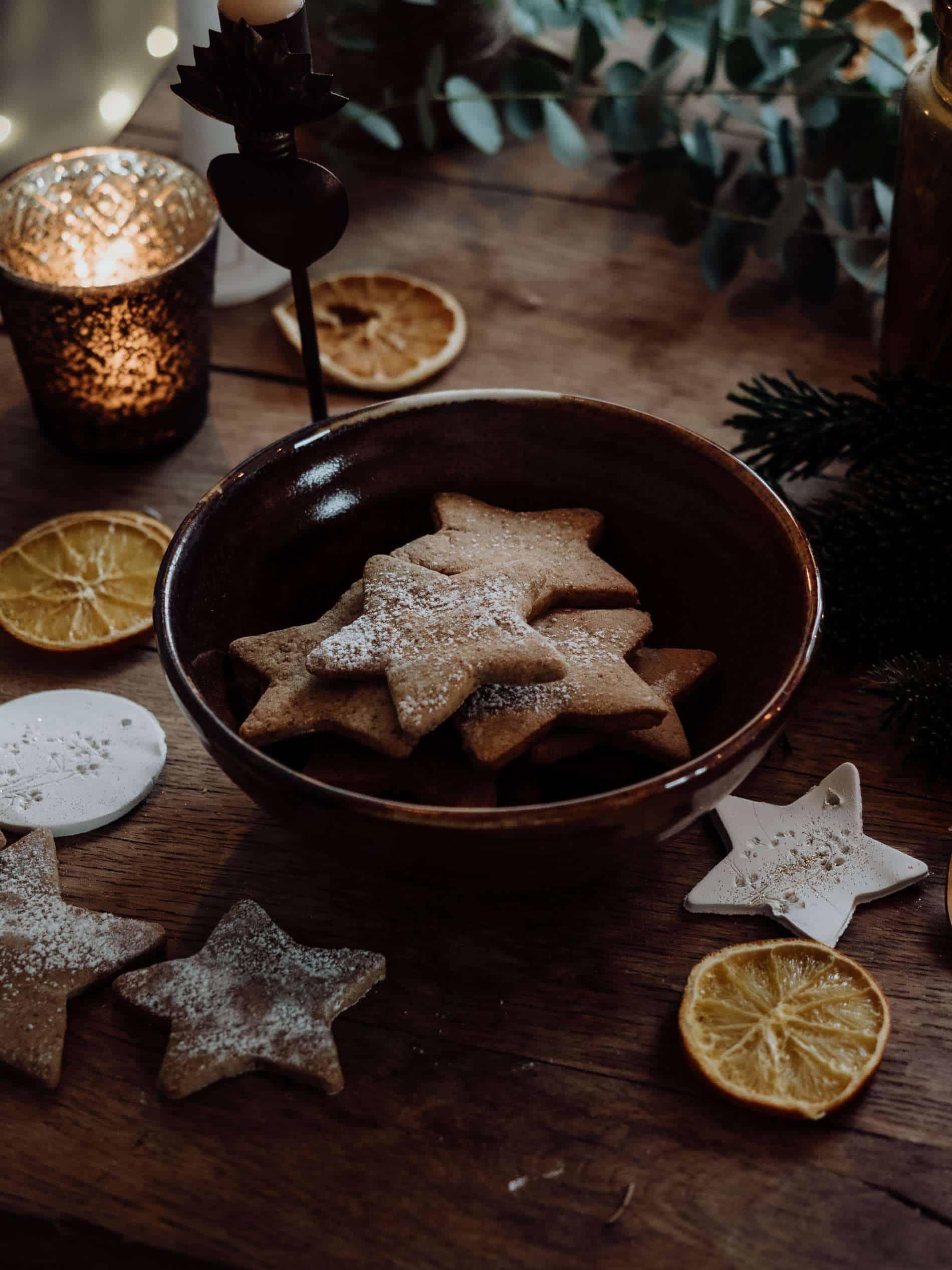 sablés de Noël table de Noël kinfolk deco lili in wonderland