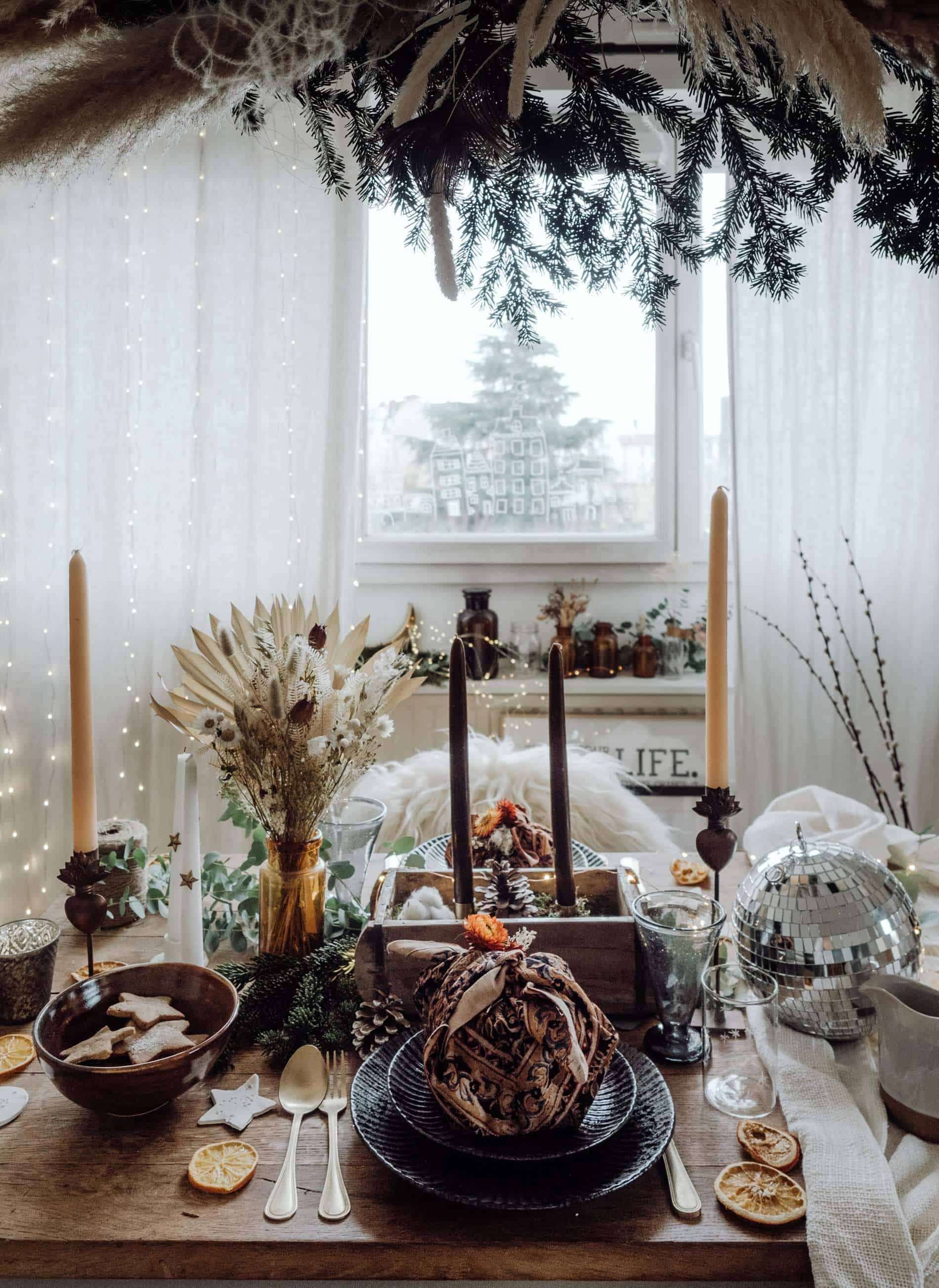 table de Noël kinfolk blog deco lifestyle voyage Lili in Wonderland