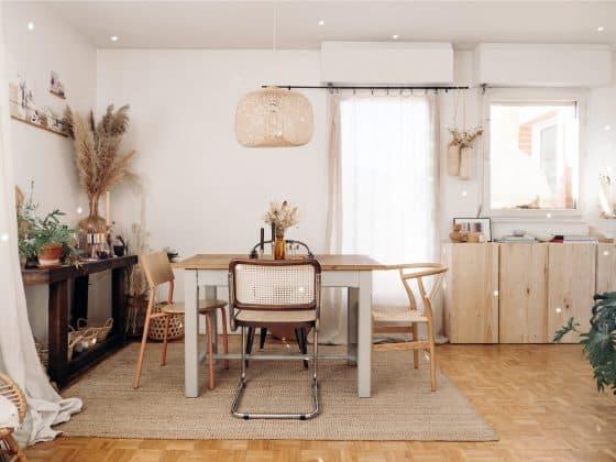 salle à manger chaises design décoration
