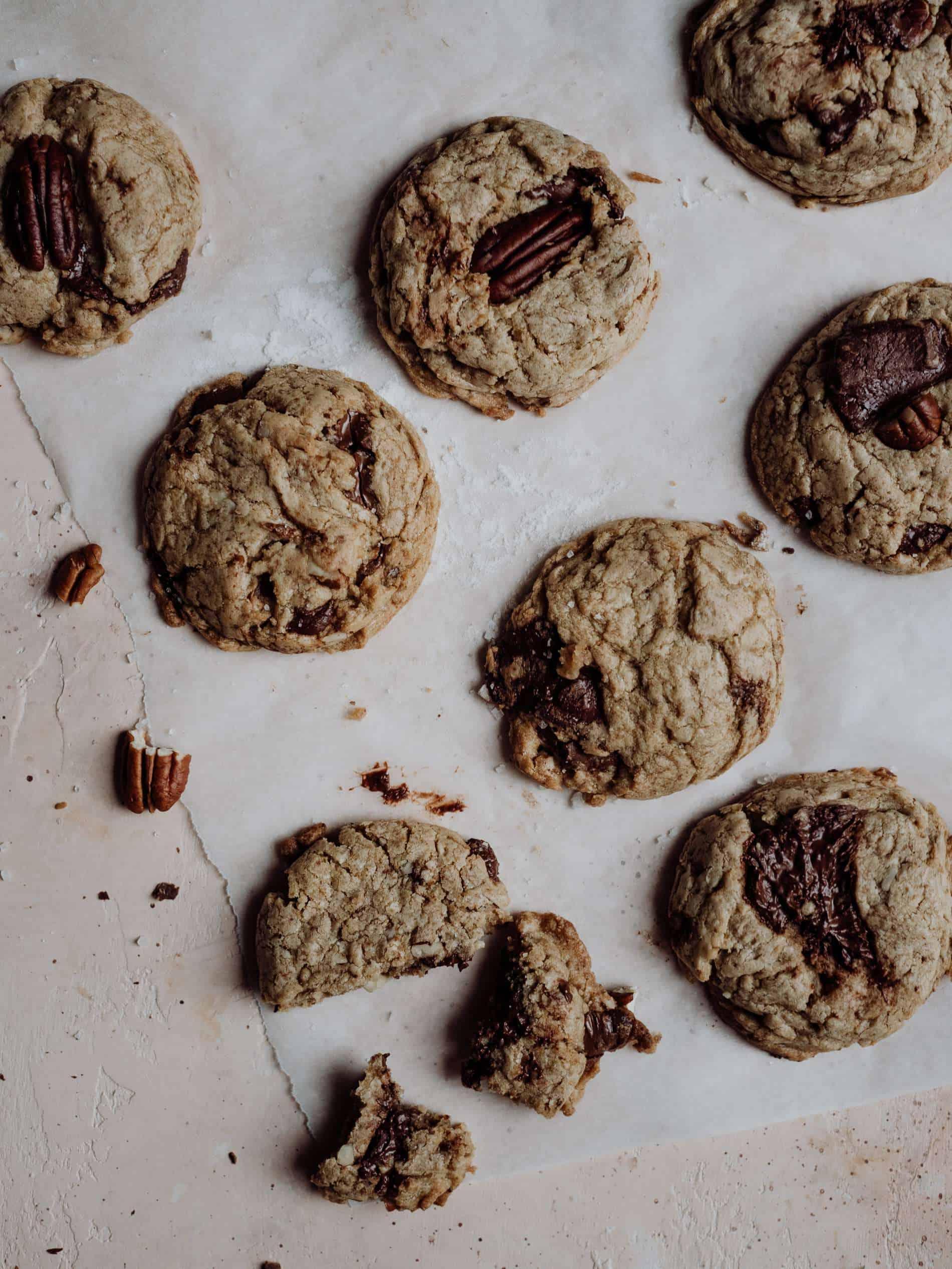 cookie chocolat noir noix de pecan