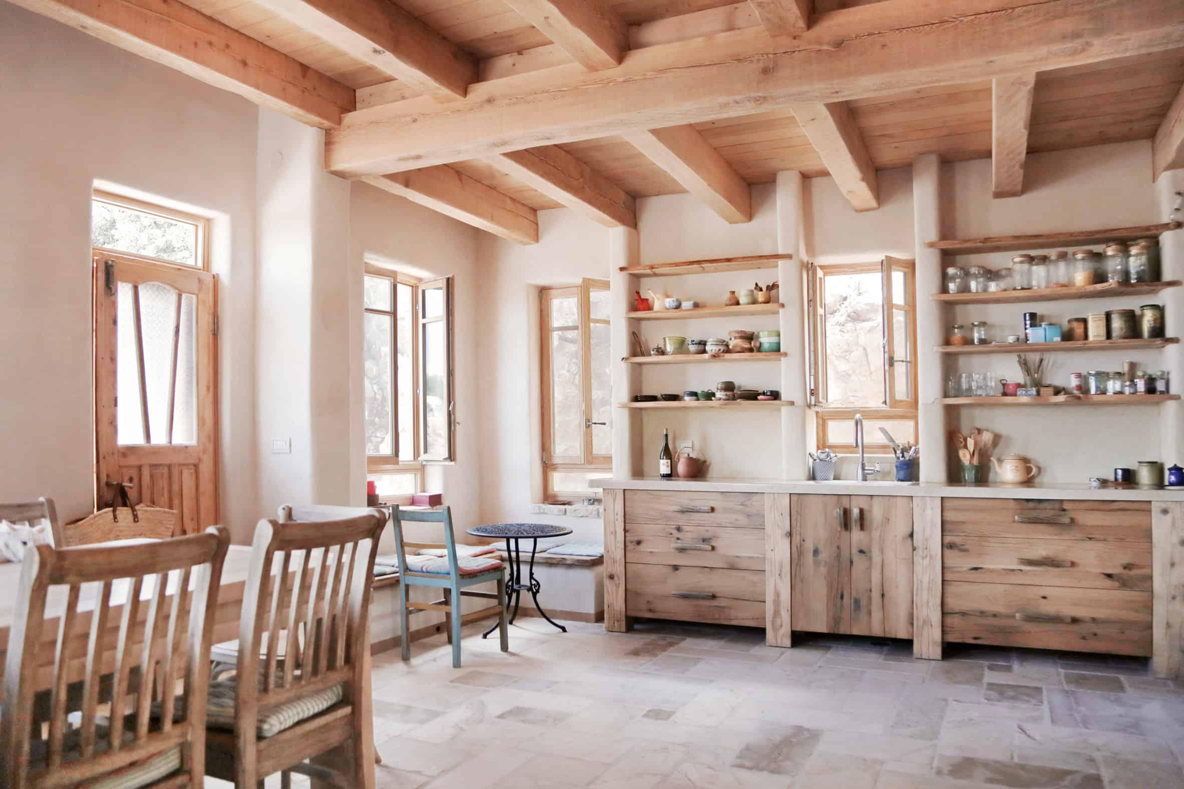 maison écologique en chanvre cuisine décoration naturelle blog déco lili in wonderland