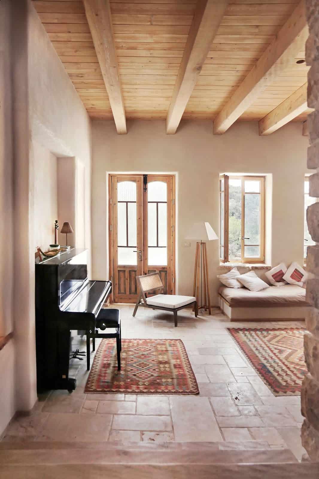 maison écologique en chanvre salon décoration naturelle blog déco