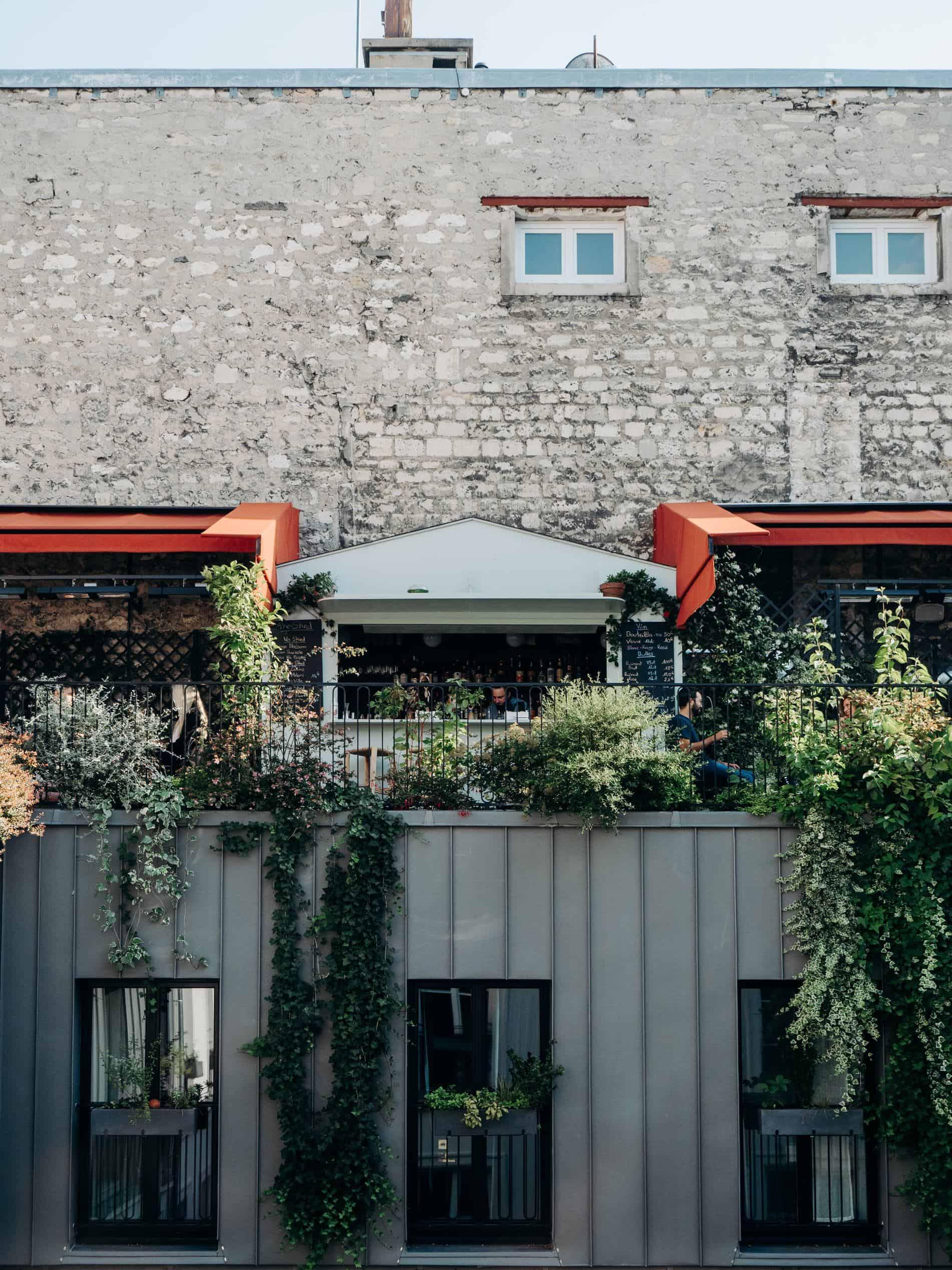 hôtel des Grands Boulevards rooftop
