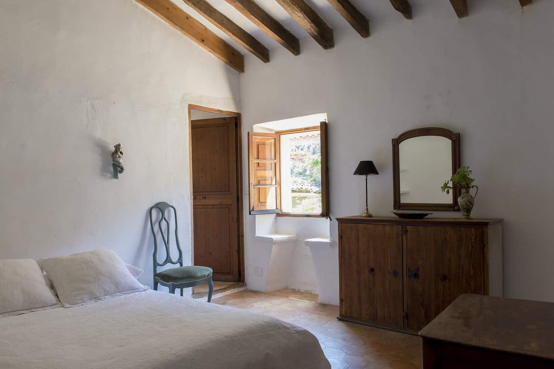 finca Son Ru Mallorca Majorque rénovation chambre
