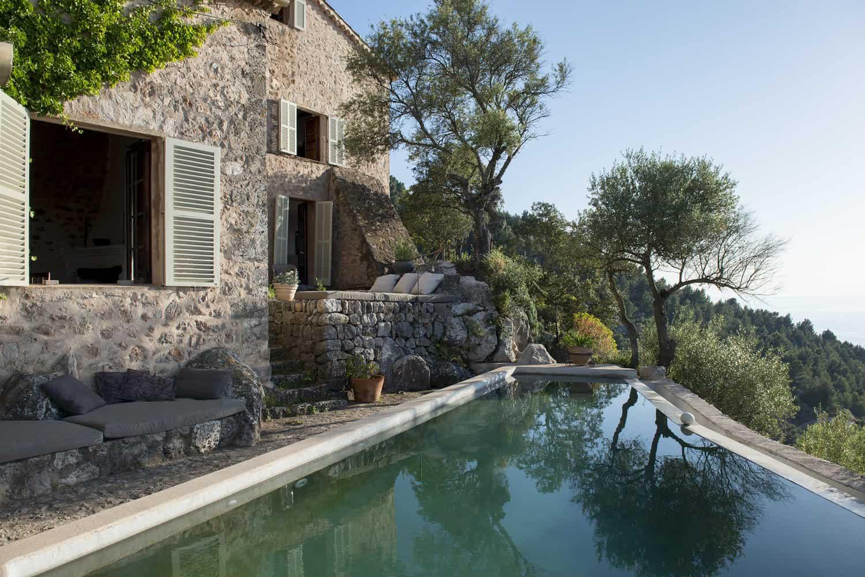 finca Son Ru Mallorca Majorque rénovation piscine