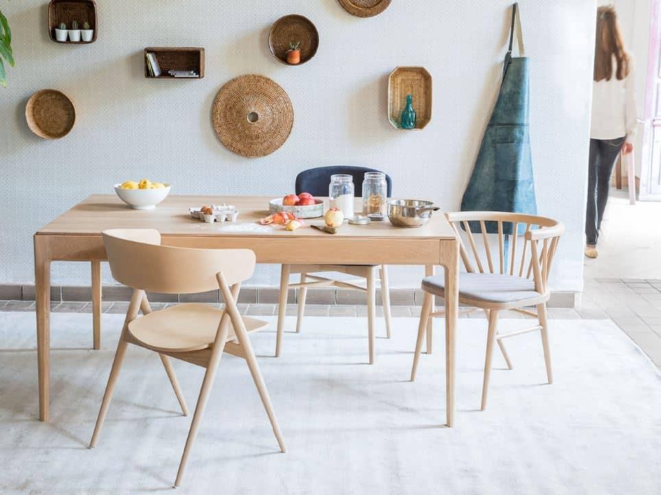 choisir chaises salle à manger bois dossier confort