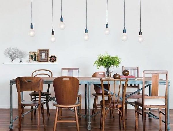 choisir chaises salle à manger dépareillées