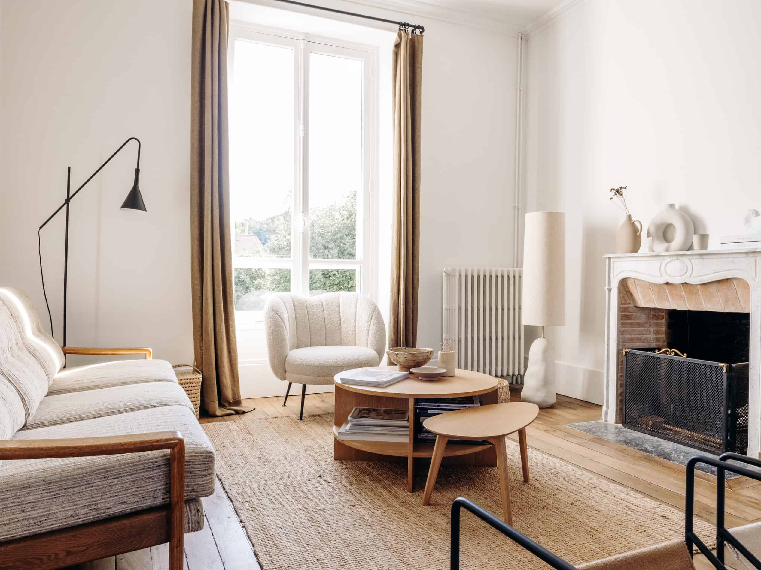 salon vintage Sélection M visite déco hometour